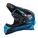 O'Neal Backflip RL2 Helm Bungarra Schwarz Blau Fidlock DH FR MTB Downhill Fahrrad, 0500-22