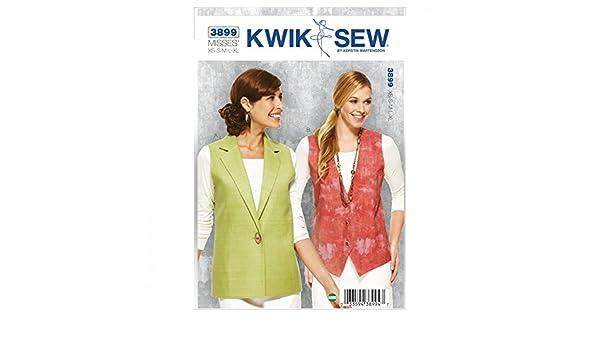 Kwik Sew Damen Schnittmuster 3899 – Weste (O/S): Amazon.de: Küche ...