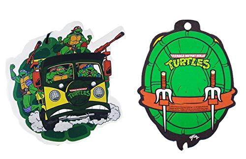 Teenage Mutant Ninja Turtles Air Freshener Bundle, Set of 2