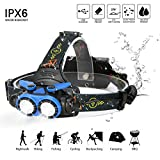 Ali Zoomable proiettore LED 4000mAh 2WAY alimentatore 4000LM super brillante IPX6USB ricaricabile impermeabile faro per ciclismo campeggio trekking pesca arrampicata caccia