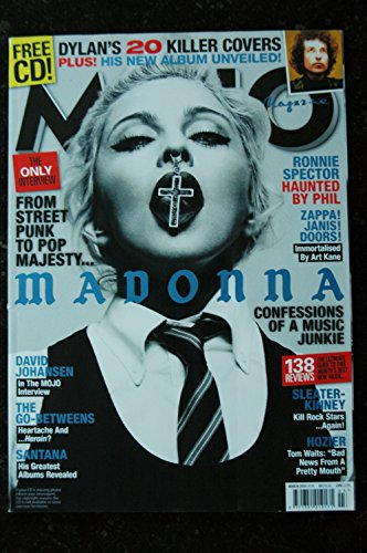 MOJO 4 MUSIC N° 256 MADONNA CONFESSIONS OF A MUSIC JUNKIE