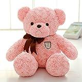 VERCART Teddybär Kind Spielzeug Kind Mädchen stagsgeschenk für die Geburt Rosa 50cm
