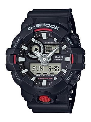 Casio G-Shock - Herren-Armbanduhr mit Analog/Digital-Display und Resin-Armband - GA-700-1AER