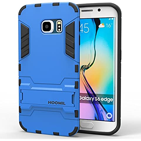 HOOMIL Custodia Galaxy S6 Edge Armor Serie Silicone Built- in