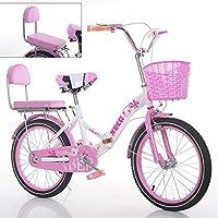 YEARLY Bicicleta plegable infantil, Bicicleta plegable estudiante Luz portátil Escolar primaria Bicicleta plegable Para 6
