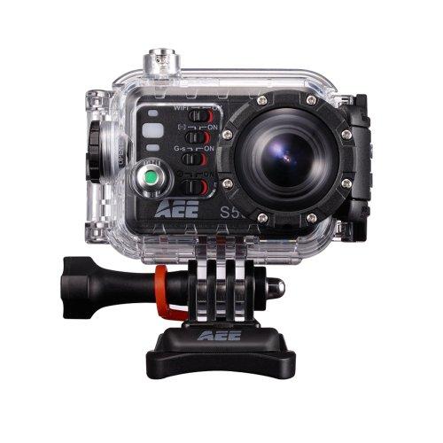 AEE Magicam S50 Autokamera Videokamera Viedo Camcorder Sport Action Kamera Helmkamera Car Camera 1080p Full HD Wasserdicht WiFi-Datenübertragung für Extremsportarten S50 Camcorder