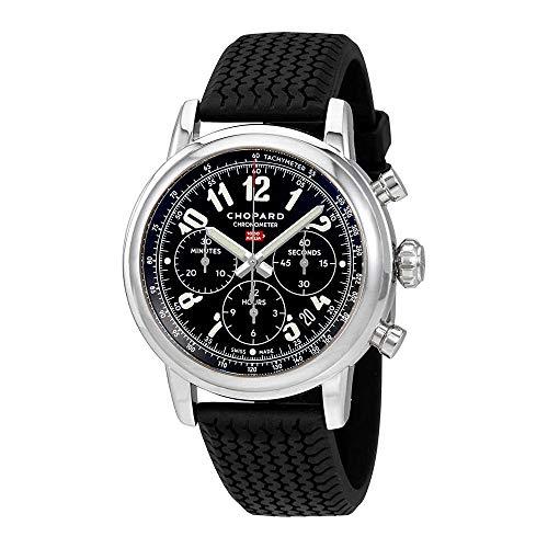 Chopard mille miglia cronografo nero quadrante mens orologio 168589–3002