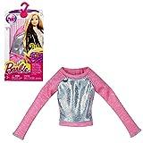 Barbie - Tendance Mode pour les Vêtements de Poupée Barbie - Chemise Rose Argent