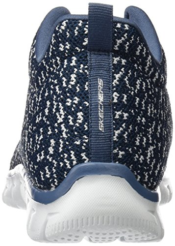 Skechers Empire-Connections, Scarpe Sportive Outdoor Donna Blu (nvw)