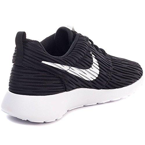 Nike Roshe One Eng, Chaussures de Running Entrainement Femme Blanco (Black / White)