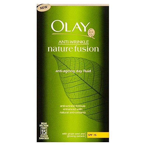 Olay Anti-Rides naturel Fusion SPF 15 fluide jour (100 ml) (Lot de 2)