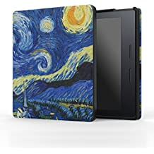 MoKo Kindle Oasis Case - Ultra Sottile Leggero Custodia per Amazon New Kindle Oasis 8th Generation 2016 Version, Notte Stellata