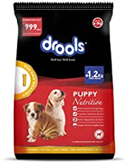 Drools Chicken and Egg Puppy Dog Food, 6.5kg (1.2kg Extra Free Stock)