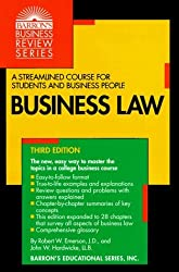 Business Law (Barron's Business Review Series) by Robert W. Emerson (1997-01-30)