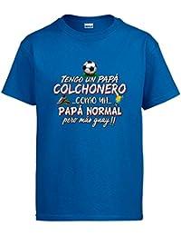 Diver Camisetas Camiseta Tengo Un Papá Colchonero Como Un Papá Normal Pero  ... ff45dc7f26d29