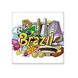 Fußball Oscar Niemeyer Brasilien Graffiti Keramik Bisque Fliesen Badezimmer Decor Küche Keramik Fliesen Wand Fliesen, sku00229592f16751-M