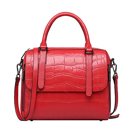 GUANGMING77 _ Mobile Messenger Bag Borsa A Tracolla Per Donne,Viola Red red