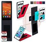 reboon Xiaomi Redmi Note 64Bits Hülle Cover Case Bumper | Rot | Testsieger