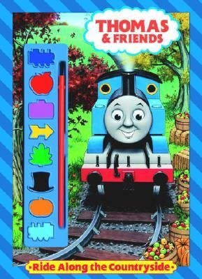 By Golden Books ; Tino Santanach ; Golden Books ( Author ) [ Ride Along the Countryside (Thomas & Friends) Paint Box Book By Jul-2004 Paperback