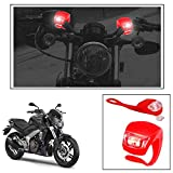 #9: Vheelocityin 2+2 Led Red Bike Light with Flashing Mode Motorcycle LED For Dominar