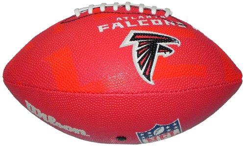 Wilson Football NFL Junior Atlanta Falcons Logo - Balón de fútbol americano  (infantil c7db56beaaa
