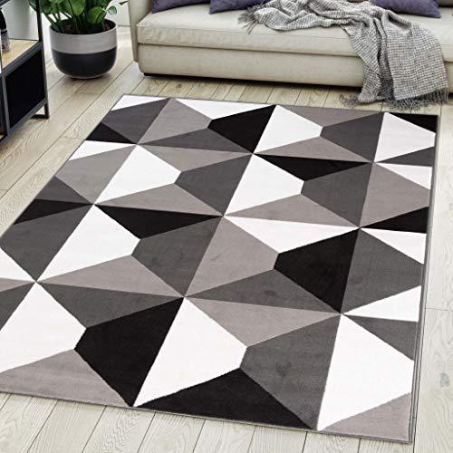 Carpeto Rugs Alfombra De Salón Moderna De Pelo Corto
