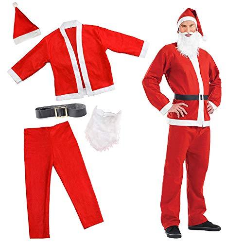 Festliches Weihnachtsmann kostüm – Perfektes Weihnachts Santa Kostüm, -