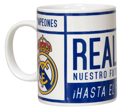 CYP Imports MG-34-RM Taza Cerámica, Diseño Real Madrid