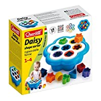 Quercetti Q242 Daisy Shape Sorter Baby Toy