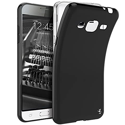 J3 Case, LK Ultra [Slim Thin] Scratch Resistant TPU Gel Rubber Soft Skin Silicone Protective Case Cover for Samsung Galaxy J3 2016 -