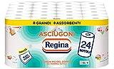 Regina Asciugoni New, Carta Cucina-24 Rotoli, 24 unità