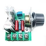 HiLetgo PWM AC Motor Speed Control Controller 2000W Adjustable Voltage Regulator 50-220V