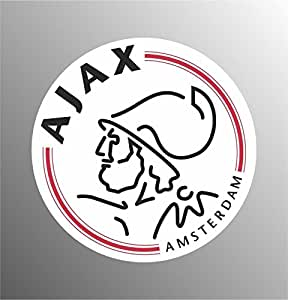 Adesivo Aiax Amsterdam champions league europe football sticker