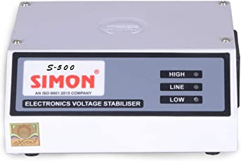 Simon Voltage Stabilizer for Refrigerator Up to 350 LTR