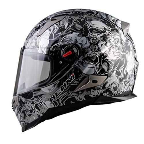 Casco moto da uomo flip up ABS Visiera parasole anti-appannamento Caschi moto Cappellini di sicurezza da corsa per motocross