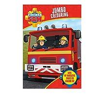 Alligator Products 3001/FSJC  Cbeebies Fireman Sam Jumbo Colouring Book