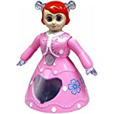 Hebrik™ Musical Dancing And Rotating Princess Doll Toy With 3D Flashing Lights With Music Gift Toy For Kids Lights, Pink