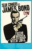 Posterlounge Alu Dibond 120 x 180 cm: James Bond Film 'from Russia with Love' von English School/Bridgeman Images