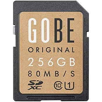 Gobe Original 256GB SDHC 80MB/s UHS-1 Tarjeta de Memoria SD