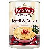 Baxters Favoritos De Lentejas Y Panceta 400g De Sopa (Paquete de 6)