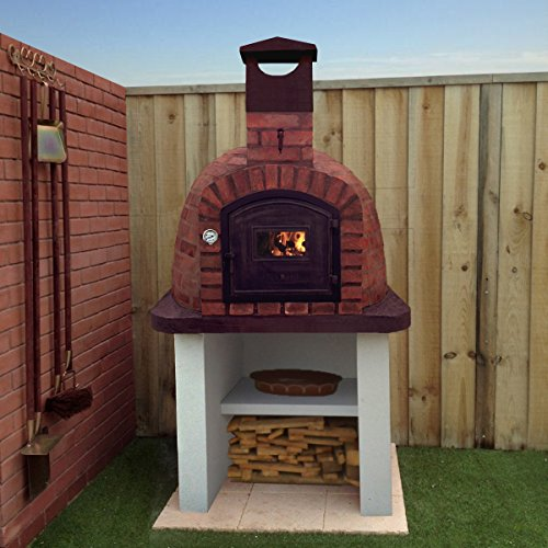 1200mm Brick Outdoor Wood Fired Pizza Oven