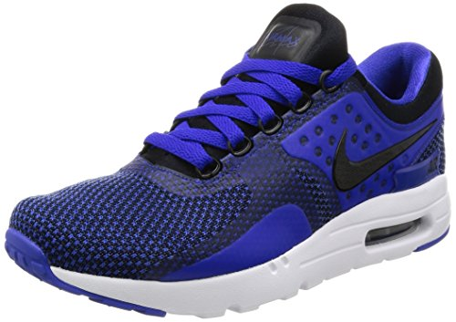 Nike  Air Max Zero Essential, chaussure de sport homme Noir (Black/black/paramount Blue/binary Blue)