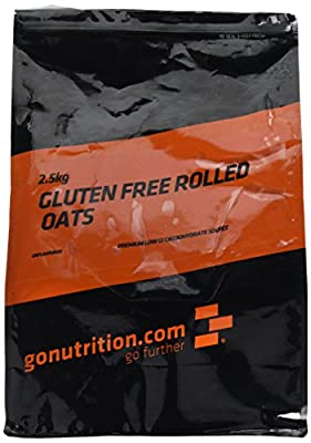 Gluten Free Rolled Oats, 1 kg  by GoNutrition