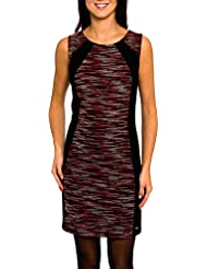 SMASH Latia Vestido Pichi Con Combinación de Tejidos-A1661311, Robe de Chambre Femme