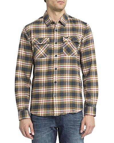 rvca-homme-chemise-a-carreaux-last-day-beige-et-kaki-pour-homme-l