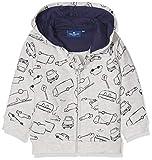 TOM TAILOR Kids Baby-Jungen Sweatshirts, (Lunar Rock Melange|Beige 8439), 92