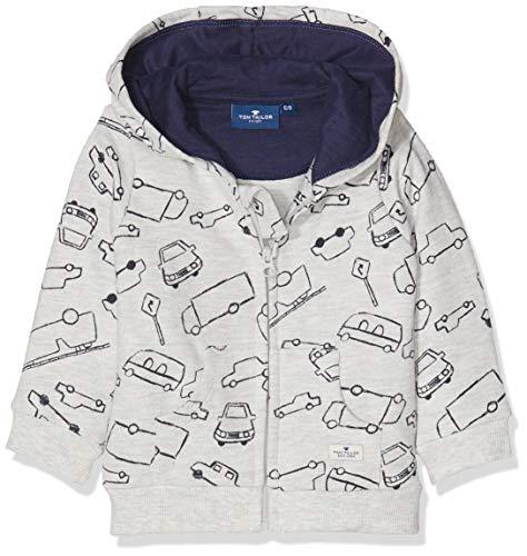 TOM TAILOR Kids Baby-Jungen Sweatshirts Lunar Rock Melange Beige 8439, 62