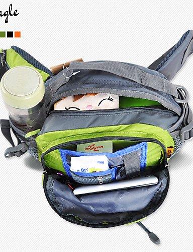 ZQ Hüfttaschen/Kamerataschen/Armband-Tasche/Umhängetasche ( Rot/Schwarz/Blau/Hellgrün/Orange/Armeegrün , 8 L) light green