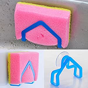 amazing-trading(TM) Sponge Holder Suction Cup Sink Holder Kitchen Tools Gadget