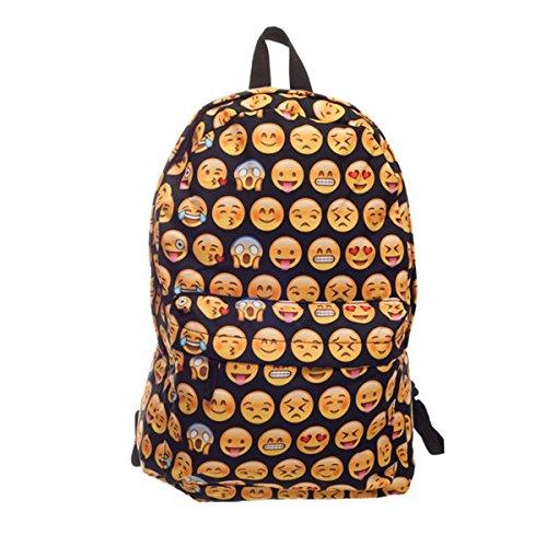 CAMTOA 3D QQ Zaino /Scuola Zaino/ Bambini Zaino/ School Bag/Backpack - Moda Nuovo Stile - Innovativo Modello di Progettazione
